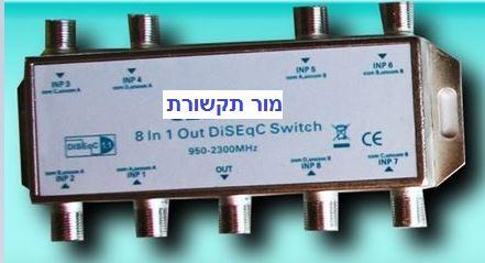DISEQc 8 לצלחות לוויין