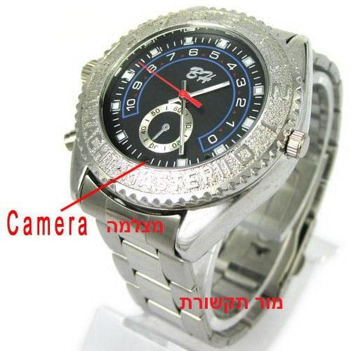 שעון יוקרתי לגבר הכולל מצלמה סמוייה