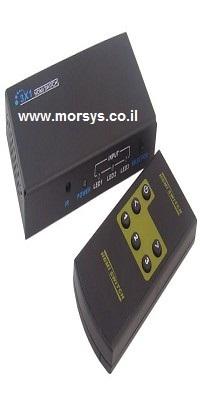 בורר HDMI  3 כניסות כולל שליטה עם שלט
