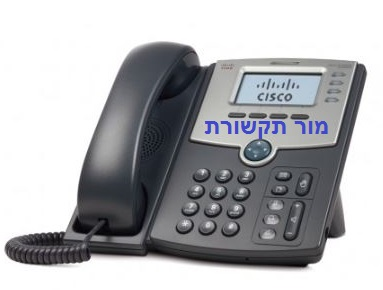 SPA 504G CISCO טלפון IP בעל 4 קווים